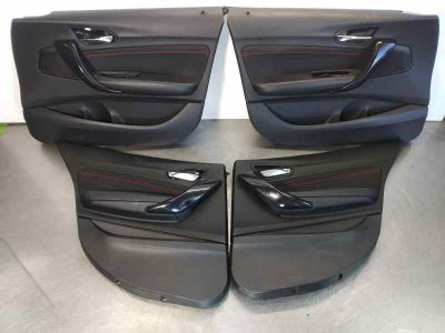 JUEGO TAPIZADOS / CARTONERAS de BMW SERIE 1 LIM. (F20) 116d       06.11 - 12.14