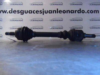 TRANSMISION DELANTERA IZQUIERDA de PEUGEOT 206 BERLINA 1.9 Diesel | 0.98 - ...