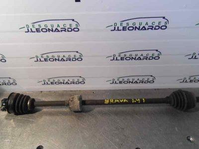 TRANSMISION DELANTERA DERECHA de FIAT BRAVA (182) 1.4 12V CAT   0.95 - ...