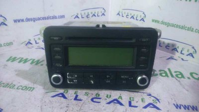 RADIO CD de VOLKSWAGEN PASSAT BERLINA (3C2) Highline   |   03.05 - 12.10