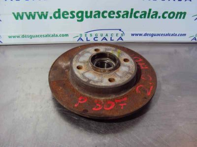 DISCO FRENO TRASERO de PEUGEOT 307 (S1) XR   |   04.01 - 12.04