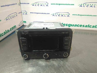 SISTEMA AUDIO / RADIO CD SEAT TOLEDO (KG3) Reference