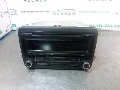 SISTEMA AUDIO / RADIO CD VOLKSWAGEN CADDY KA/KB (2K) Furg.
