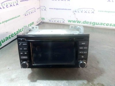SISTEMA AUDIO / RADIO CD NISSAN JUKE (F15) Acenta
