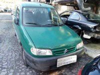 Despiece de CITROEN BERLINGO `1996 1.9 D SX Familiar