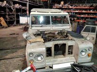 Despiece de LAND ROVER SANTANA `1976 109